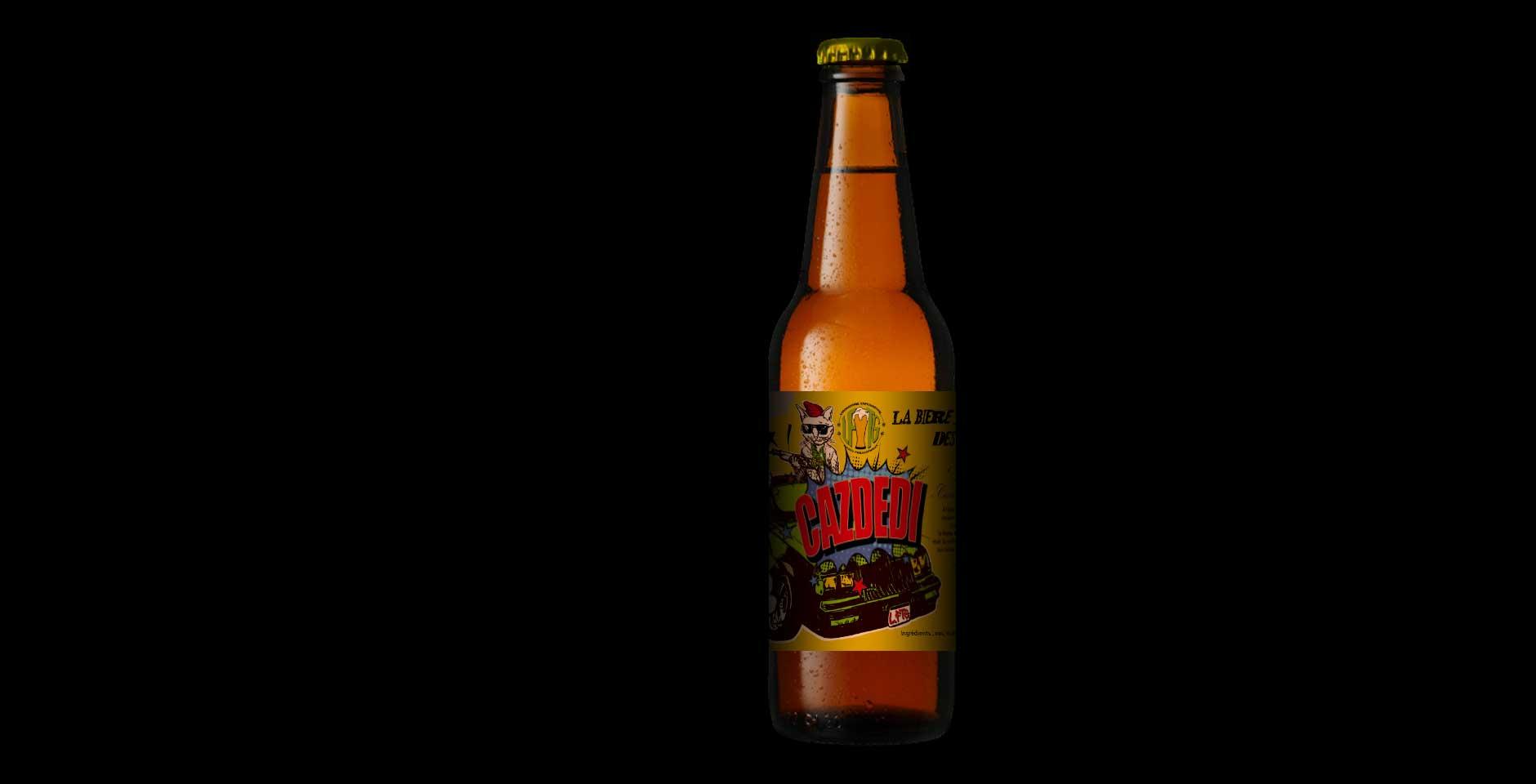 bière de la micro-brasserie
